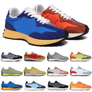 New balance 327 yüksek kalite Collab Outdoor Ayakkabı bayan erkek des chaussures Canlı Turuncu Kireç Yeşil koşu Spor Sneakers vintage eğitmenler