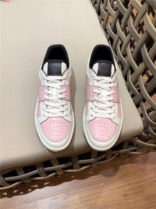 Christian Dior d'or Eğik Men Smooth Dana derisi B01 Sneakers TMY c22 Moda B22 B23 B24 B01 B02 Sneakers Shoes