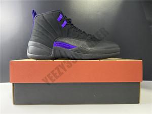2020 12 scuro Concord pallacanestro Scarpe 12s Anno di maiale nero viola Oro Marca Desgin modo di sguardo Mens CT8013-005 Sneakers Sport