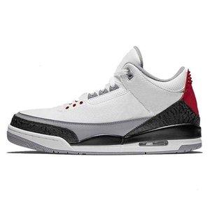 Mens Basketball Best Men Qualidade 3 2019 3s Shoes New Black White Cement Coreia do Katrina OG Sneakers Tamanho US7-13 EUR40-47
