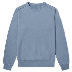19SS 62751 Crewneck T0PST0NE de manga larga camiseta sólida simple camiseta de la moda suéter suéter Sportwear Streetwear