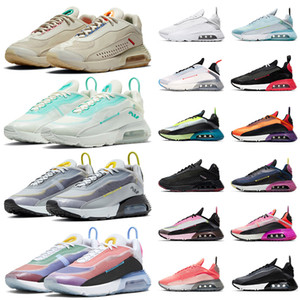 nike air max 2090 airmax Chaussures de course pour homme femme 2020 New Tennis Formateurs Pure Platinum Soyez vrai Aurora vert hommes de sport Chaussures de sport