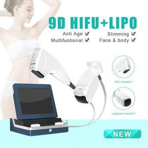 2020 2IN1 LipoSonix HIFU машина Новые LipoSonix похудения красоты HIFU фейслифтинг подтяжка кожи машина красоты