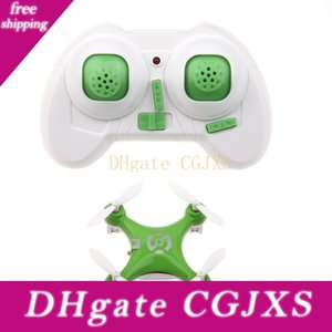 Cheerson Cx -10 CX10 Mini 2 .4G 4 canales 6 Eje LED RC Quadcopter RTF
