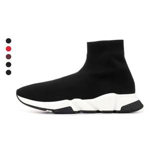 2020 sock shoes speed trainer men women sneakers triple Black White Red Beige Pink Clearsole mens fashion casual shoe tennis jogging walking