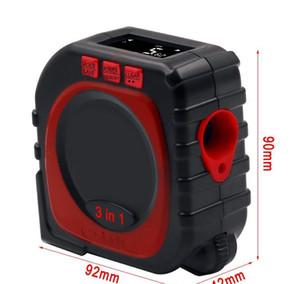 3-in-1 Tool Measure Range Roll Tool Digital Measuring Laser Distance Meter Cord Finder Mode Multi-function Gauge Tape Infrared QxaqX