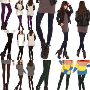 Rpukm Leggings pantyhose et féminin mode de molleton de neuf points Pantyhose automne pour l'hiver