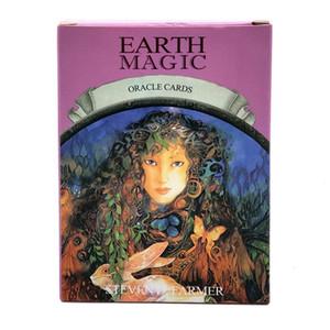 Para hojas de cartón Tierra Inglés Leer Nueva Junta Tarot tarjetas de juego 48 cubierta de Oracle Magic Card Uso Destino Tarot Juego Magic Personal yxlRqi