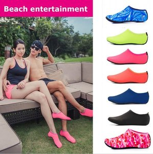 Water Sports Scuba Diving Socks 7 Colors Swimming Snorkeling Non-slip Seaside Beach Shoes Breathable Surfing Socks Sandals