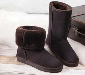 Classics Fashionable And Exquisite Womens Boots High Heels And Genuine Leather Outdoors fashion boots 01 P19
