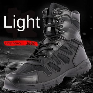 Spring and Autumn lightweight War war mid-arm combat non-slip breathable desert boots land combat boots