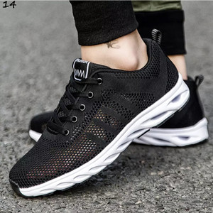 with free socks 2020 black Brown men casual shoes mens trainers outdoor sports sneakers Breathable Jogging running shoes eur 39-46