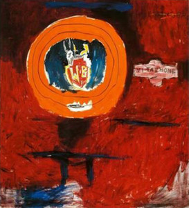 Jean-Michel Basquiat - Vitaphone, 1984 Art Picture Home Decoration Oil Painting On Canvas Wall Art Canvas Pictures For Living Room 200903