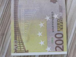200 Euro Bar Puntelli valuta Film puntello falso denaro caldo di vendite del prodotto Raccolta festiva feste scherzo regalo 01