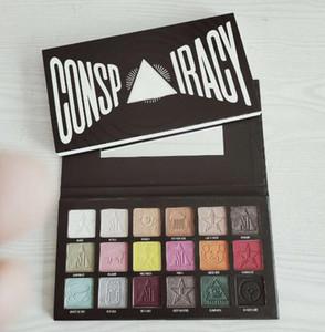 2020 Yeni Marka consp iracy far 18color Maquillage marka makyaj göz farı paleti 24pcs DHL ücretsiz gönderim yayınlandı