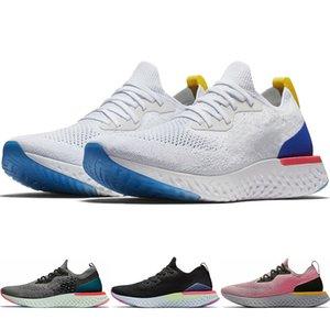 Classique Epic React Mesh respirant Blanc Bleu Racer Cortez Hommes Chaussures de course Noir Hyper Rose True Women Sneakers CJ8295-100 AQ0067-101