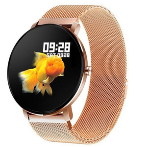 K9 PRO Smart Watch IP68 Récompense cardiaque imperméable Fitness Tracker Sport SmartWatch Écran tactile complet pour bracelet de mode Android