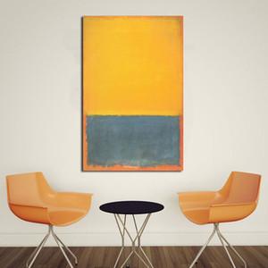 Salon Tuval Modern Resimleri İçin Sanat Resim Çerçevesi Y200102 Boyama JQHYART Mark Rothko Klasik Natürmort Yağı