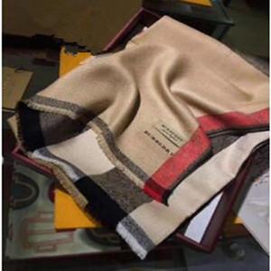 2019 Top marca sciarpa di seta progettista signore morbido alta qualità eccellente dimensioni Sciarpa Marca 180x70cm donne 2018 autunno sciarpa calda Sciarpa di cotone