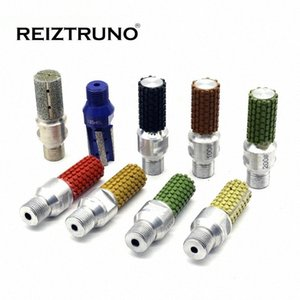 """Reiztruno Diamond Bit dedo para losas de granito fregadero recorte y rectificado por la máquina CNC y routers-M14,5 / 8 """"-11,1 / 2"""" gas hilo mCD7 #"""