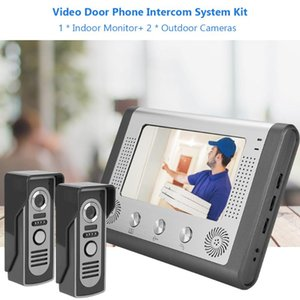 interfone maison 7inches TFT LCD vídeo porteiro Wifi Intercom Doorbell Sistema Kit Home Security