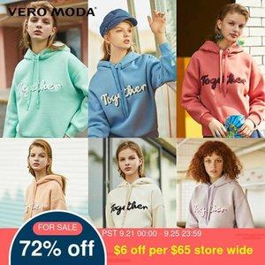 Vero Moda Yeni Kadın akın Mektupları Kapşonlu Polar Hoodie   319433505