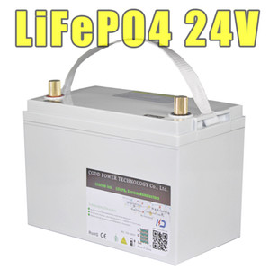 LiFePO4 24V 40AH 60AH 80H IP68 wasserdichte nachladbare Batterie-elektrisches Fahrrad Speicher Solar-LED-Lampe Batterie