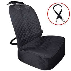 New Waterproof Soft Quilting Non-slip Dog Car Front Seat Cover Front Seat Mat Cushion Protector Pet Accessories