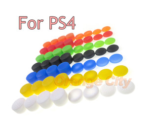 Enhanced Analog ThumbStick Joystick Grips Extra High Enhancements Cover Caps For Sony Play Station PS4 Game Controller 1set=8pcs