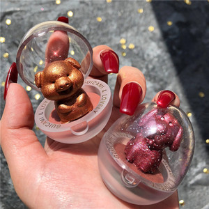 GUCAMI Glitter Highlighter Holographic Animal Zodiac Shape Makeup Palette Face Contour Shimmer Bronzer Highlight Eyeshadow Illuminator 0150