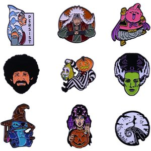 / Lot J1529 Geekcoco Anime Punk Character Pins spilla badge Horror Movie carattere Jewelry Lapel Pin 20pcs