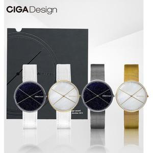 Xiaomiyoupin Original CIGA Design CIGA Quartz Watch Romantic Starry Sky Wrist Watch Women's Simple Ladies Watch