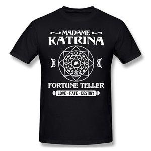 Madam Katrina Falcı T Shirt Yaz Kısa Kollu Pamuk hayvan geçişi yeni ufuklar Tişört