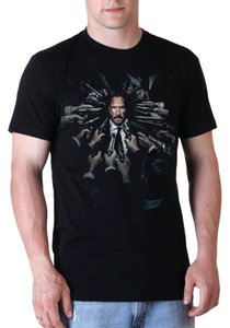 John Wick nera mezza manica T Shirt
