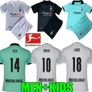 Erwachsener 20 21 MÖNCHENGLADBACH weg scherzt Fußball jersey120th Jahrestag Gladbach 2020 2021 Mönchengladbach schwarz Thuram Borussia Fußball-Trikot