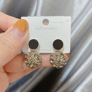 Kana Mina neue süße Internet Promi-Mode Temperament personifizierte übertriebene koreanischen Stil Ohrringe und Ohrringe 020