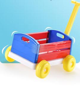 Baby walker carrello carrello per la casa organizer carrello shopping carrello stoccaggio cestini divertenti auto sportivi all'aperto indoor pull toddler giocattoli regalo di compleanno