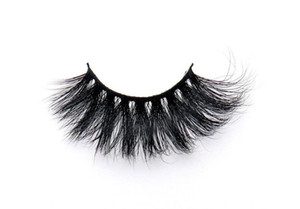 The Latest 44 Models of 5D Mink Hair 25mm False Eyelashes Thick and Long Variegated Cross Extend Eyelashes Magnify eyes Eye Makeup Tools