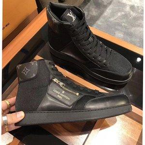 Hohe Version, die Auflistung neuer Mens-Breathable beiläufige Schuh-Mode-Männer Schuhe, Persönlichkeit Reißverschluss Dekoration Mens hohe beiläufige Sportschuhe 0023