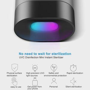Lumières UV, désinfection UVC portable LED Light MOBILE MOBILE INTERFACE INTERFACE POWER Factory OEM Vente en gros 275 nm Programme