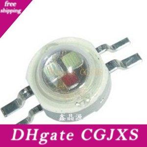 3w 주도 RGB 칩 용접 히트 싱크 높은 전원 Led 램프 비드 RGB 여섯 / 네 다리 350mA 3 개 0.2 -3 .4v 칩