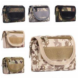 BH0840 Durable Táctica Bolsa de cintura portátil Paquete de senderismo Paquete Camping Tactical BC Bolsa impermeable Cintura Camuflaje al aire libre NY UXPBN