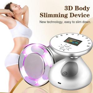 Hot Amazon EMS Body Slimming Massager Weight Fat Loss Anti Cellulite Fat Burner Galvanic Infrared Ultrasound Cavitation