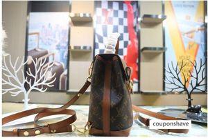 M44391 Women Damier Azur Canvas TOP OXIDIZED REAL LEATHER ICONIC SHOULDER Bag TOTES CROSS BODY BUSINESS MESSENGER BAGS 28cm