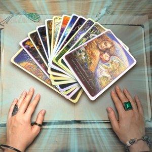 Jeux Tarot de l'amour Whispers Conseil de Whispers Cartes Cartes Pour Party Divertissement Oracle Famliy yxlcUE garden_light