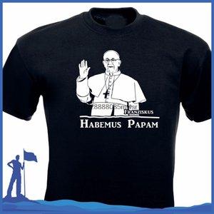 Hot Summer 2019 hommes T-shirt Fashion Style d'impression d'été T-shirt Papst pape manches courtes en coton T-shirts Vêtements homme