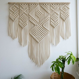 Northern European Woven Tapestry Decoration Home Living Room Wall Decoration Background Bohemian Tapestry Handicrafts