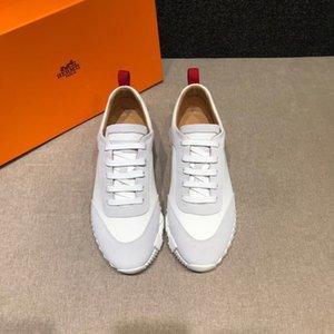 Hermes 2020 классических новых деловых людей, работающих на открытом воздухе плоские повседневная обувь четыре цвета универсальный случайные тенденции моды дышащей sneake