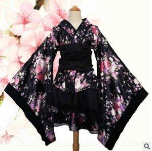 BQICB Udnzu cospaly Heavy Cherry Cherry-Mädchen Glückseligkeit Outfit Tanz Land Haus Reine Kleidung Kleid Kimono Kimono Luo Lita Kleid 2705