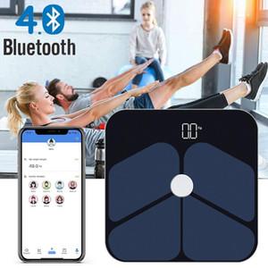 Bluetooth 4.0 Смарт Body Fat Scale Электронные весы бытовые Body Fat Loss Diet Точность взвешивания весы точные измерения